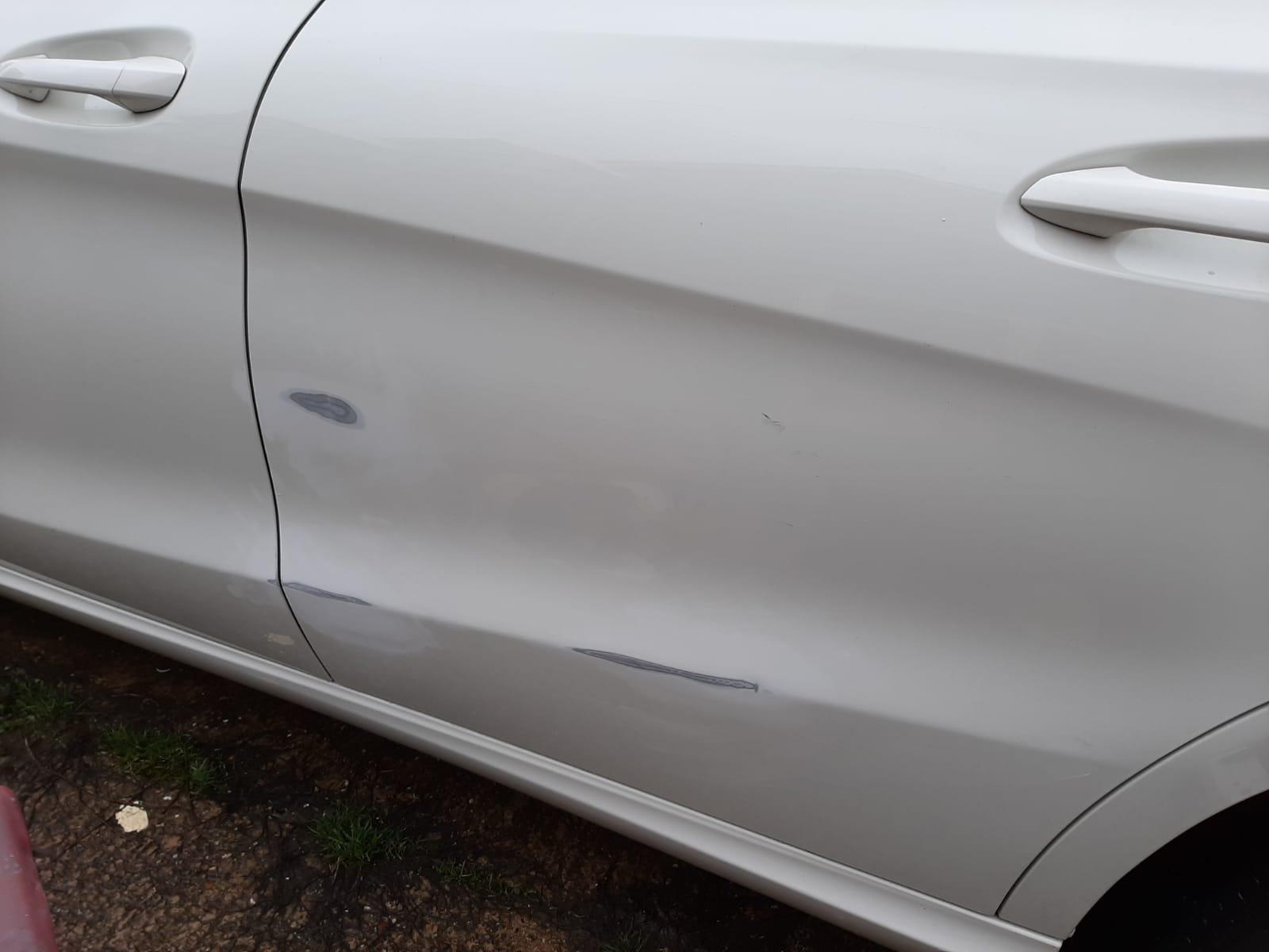 Door Scuff Repair