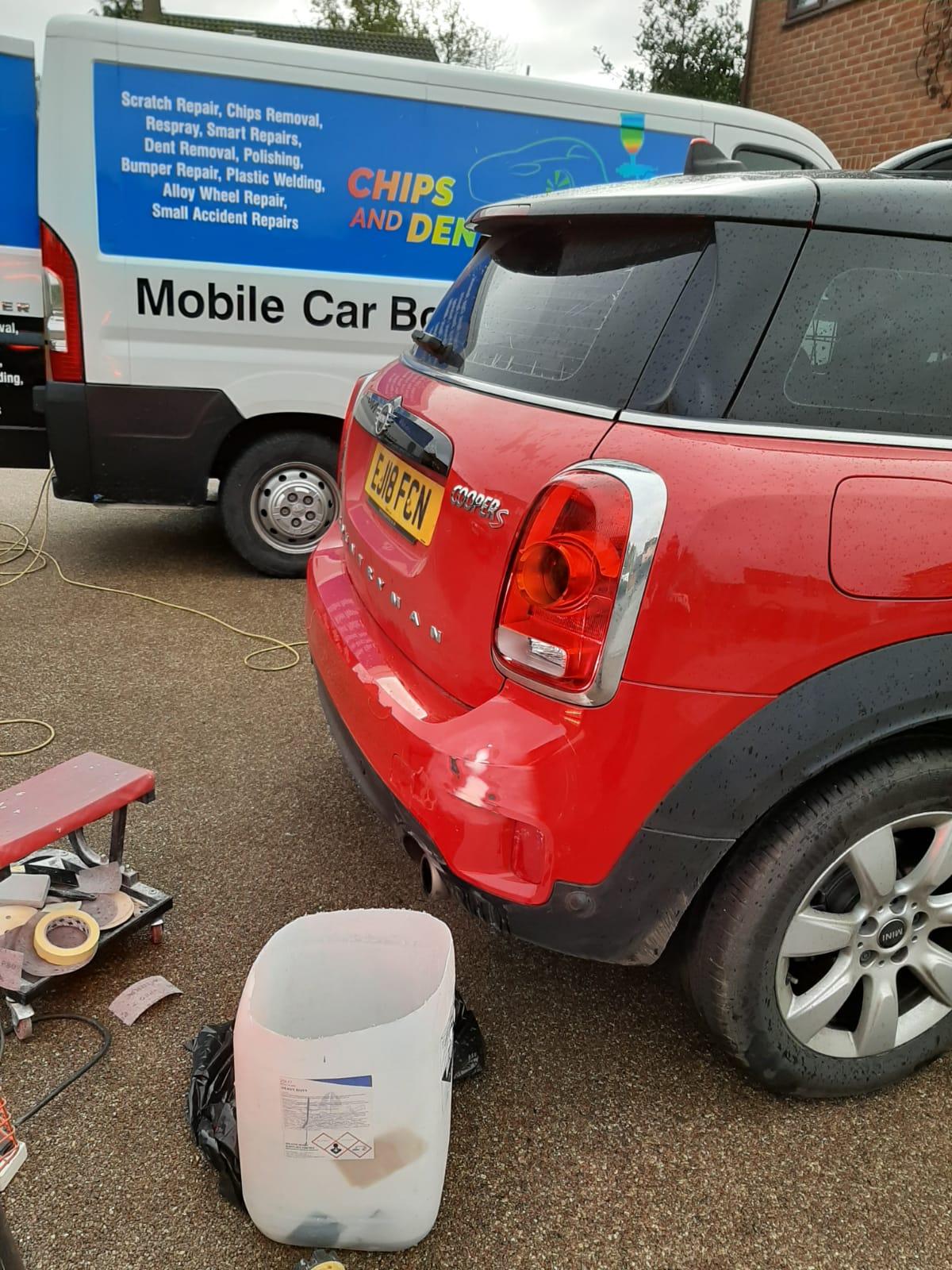 Bumper Corner Repair